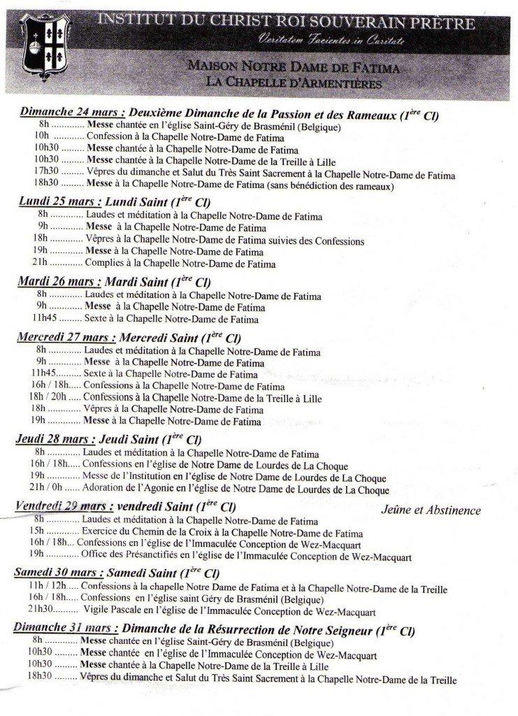 Horaires de la semaine sainte dans Horaires de la semaine Sainte horaire-semaine-sainte-2013