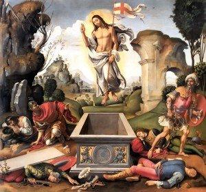 Il est ressucité ! dans Spiritualité resurrection_raffaelino_del_garbo_1510-300x279